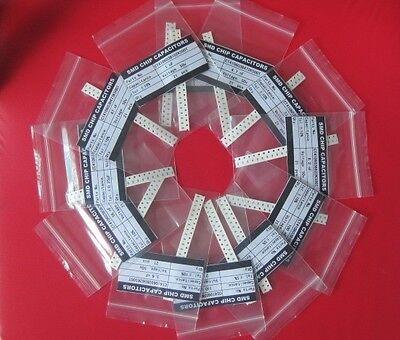 0805 2012 Smd Smt Capacitors Assortment Kit 57 Values20pcs Total 1140pcs