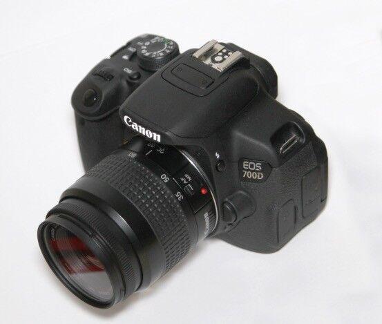 Canon EOS 700D & 35-80mm lens - Mint condition