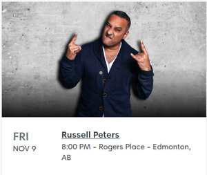 Russell Peters in Edmonton, Nov. 9