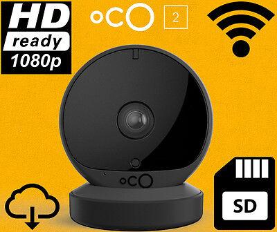 Oco2 Full HD Camera SD Card Cloud Storage Wifi Motion Sound Detection 2 Way Talk