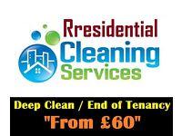 Deep clean - End of Tenancy Clean - Money back Guarantee - 24h service