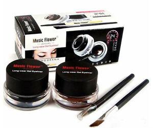Waterproof Cosmetics Tools Eye Liner Makeup Eye Brush Gel
