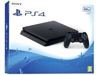 PlayStation 4 PS4 slim 500gb with gta5