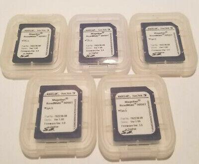 5 Pack - 256 MB SD Secure Digital Memory Card -Sandisk + Cases -For Cameras, Etc