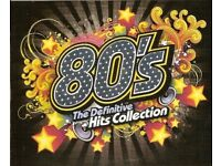 80's MP3 HITS of the 1980 to 1989 (5 DVD DISCS)