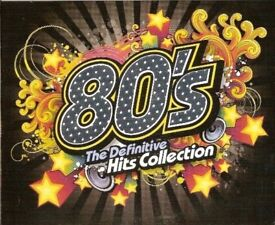 The Definitive Hits Collection - 80's MP3 HITS of the 1980 to 1989 (5 AUDIO DVD DISCS)