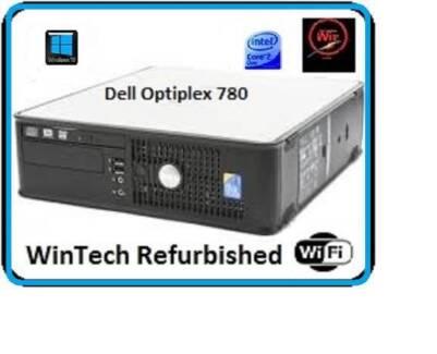 Dell 780 sff Dual Core Computer