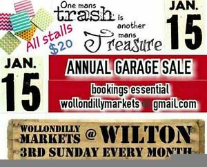 Wollondilly Markets at Wilton - January Trash & Treasure Wilton Wollondilly Area Preview