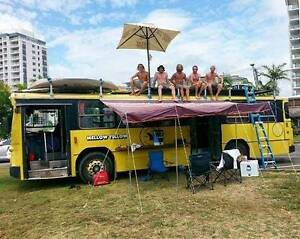 Mellow Yellow Bus Mercedes O305 MkII Motorhome campervan RV BUS Melbourne CBD Melbourne City Preview