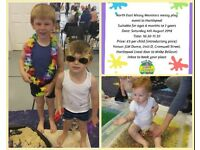 Messy play event 4th August 2018