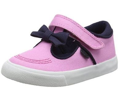 Kickers Girls Tovni T Bow Shoes - Pink