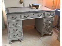 vintage desk - stylish and beautifully hand painted