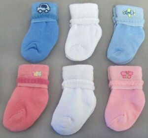 New-Wholesale-1Dz-Baby-Socks-Newborn-Socks-Size-0-12-Mos-ESocksN1