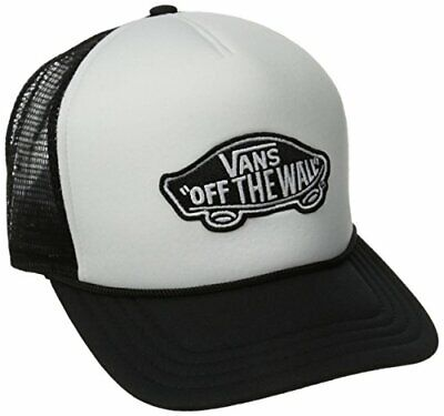 Vans Herren Classic Patch Trucker Baseball Cap, Weiß (WHITE-BLACK YB2), One