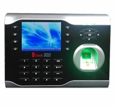 High-speed Tcpip Fingerprint Time Clock Employees Attendance Zkteco Iclock300