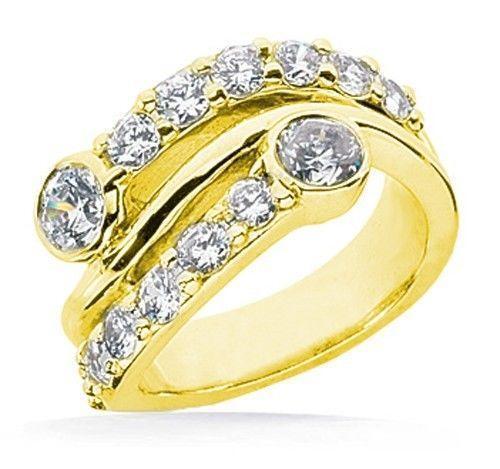 Womens Diamond Right Hand Rings Ebay