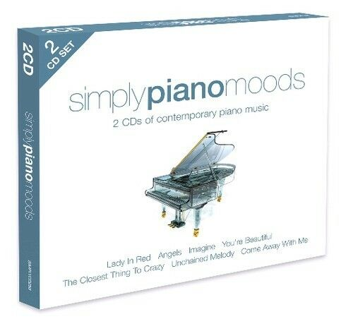 Various Artists - Simply Piano Moods / Various [New CD] UK - Import