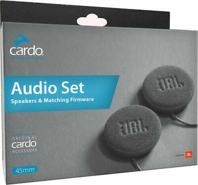 Cardo 45mm JBL Audio Set Helmet Speakers, 3.5mm Jack 42mm Base SPAU0010