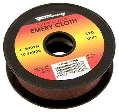 Forney Industries 71806 Emery Cloth Bench Roll 1 X 10 Yard 320grit