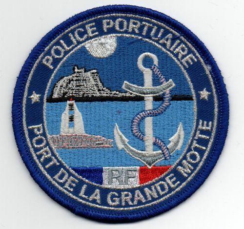 FRANCE POLICE PORTUAIRE PORT DE LA GRANDE MOTTE NEW PATCH SHERIFF