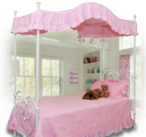 canopy bed top ebay. Black Bedroom Furniture Sets. Home Design Ideas