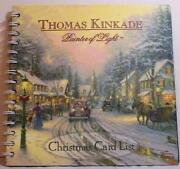 Thomas Kinkade Christmas Cards