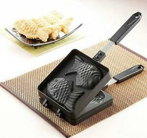 Taiyaki Fish-shaped Cake Pan Waffle Bread Party Maker Non-stick Sydney City Inner Sydney Preview