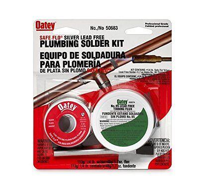 Oatey 50683 14lb Silver Safe Flo Solder