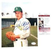 Catfish Hunter Autograph