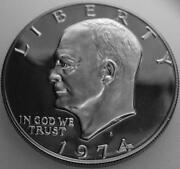 1974 Eisenhower Proof Dollar