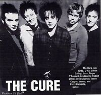 THE CURE REDS/ROUGES 101 RANGEE/ROW FF THE CURE