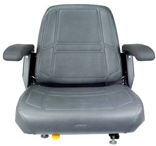 CHARCOAL GRAY SEAT FITS BUNTON, BOBCAT, SNAPPER,TORO, EXMARK
