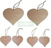 Plain Wooden Hearts