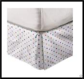 Polka Dot Bed Skirt