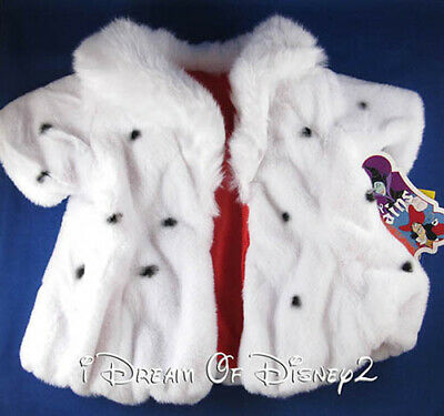 A Bear Costume (NWT Build-A-Bear CRUELLA de VIL COSTUME Disney 101 DALMATIANS Teddy 5 PC)