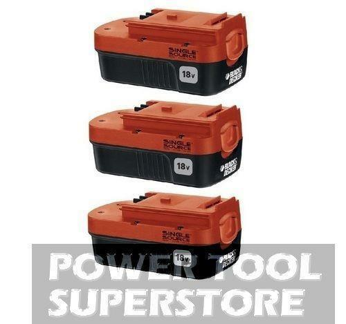 Black Decker 18v Battery 244760 00 Ebay