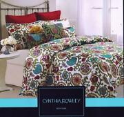 Cynthia Rowley Queen Comforter Set
