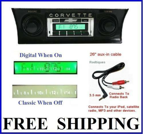 1968 Corvette Radio 1 - Corvette Radio - 1968 Corvette Radio 1