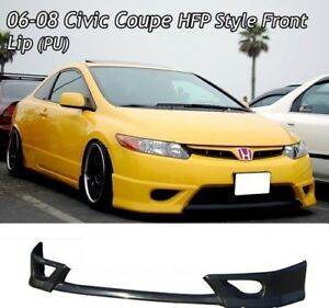 06-08 Honda Civic front lip