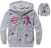 Boys Spiderman Hoodie