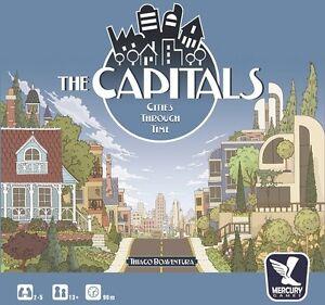 The Capitals - Boardgame / Board game