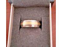 GETi Gents Ring Size W, - T036Di-1.5mm Yellow Dome Profile Titanium R