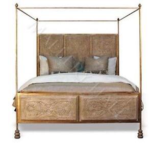 Wood Queen Canopy Beds