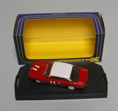 MODELLINO ALFA ROMEO GIULIA GTA N.11 MUGELLO 1966 -1:43 PROGETTO K