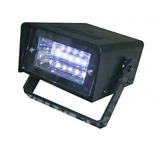 battery operated dj disco party police led mini strobe light. Black Bedroom Furniture Sets. Home Design Ideas