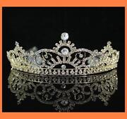 Gold Crown Tiara