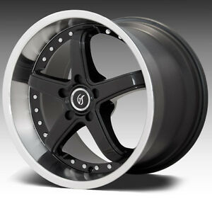 2 X MAG,GOODSPEED WHEELS 18X9  5X114.3  30 OF West Island Greater Montréal image 1