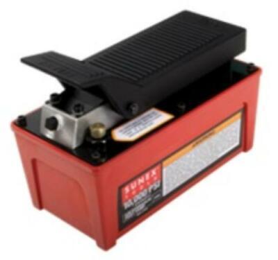 Sunex 4998 Tools 10000 Psi Capacity Air Over Hydraulic Foot Pump