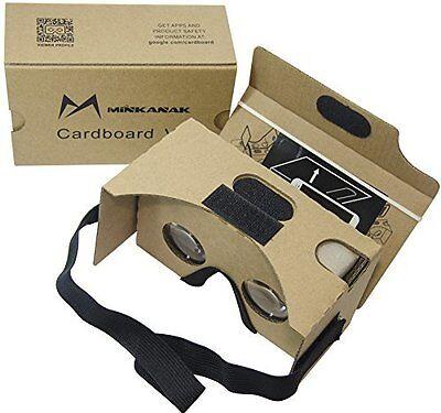 Google Cardboard Kit V2 Big Lens 3D Virtual Reality Cardboard