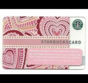 Starbucks Card Valentine